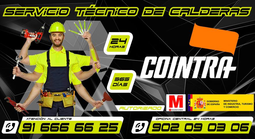 Servicio Tecnico de Calderas Cointra Fuenlabrada