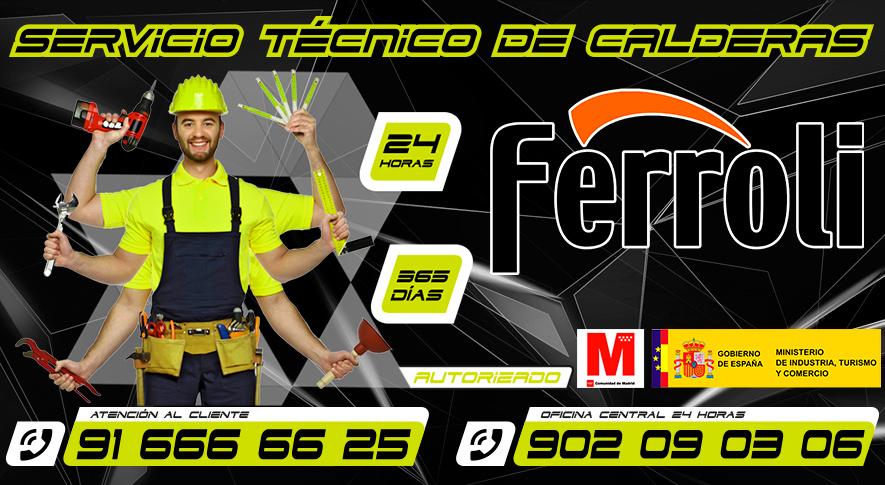 Servicio Tecnico de Calderas Ferroli Fuenlabrada