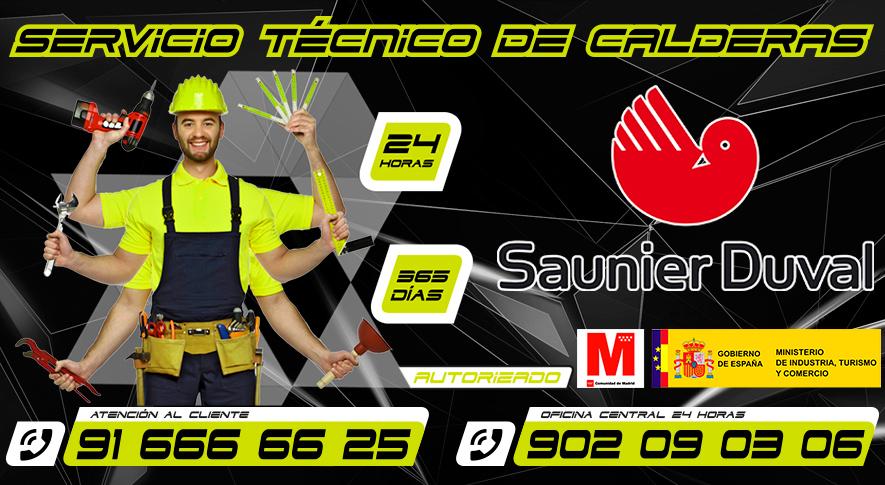 Servicio Tecnico de Calderas Saunier Duval Fuenlabrada