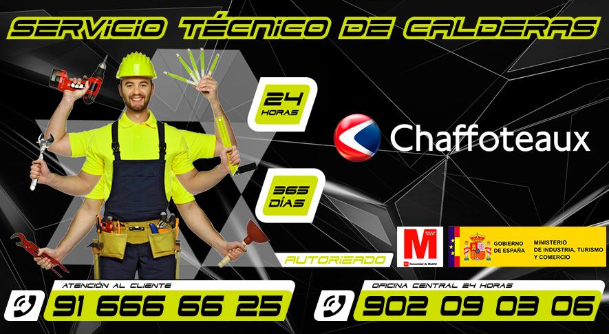 Servicio Tecnico de Calderas Chaffoteaux Fuenlabrada