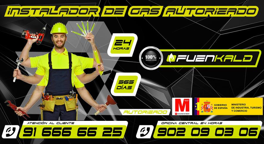 Instalador de gas en Fuenlabrada