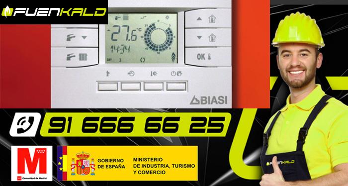 Termostatos modulantes Biasi de Tradesa