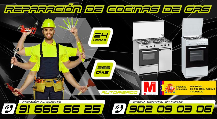 Reparación de cocinas de gas en en Fuenlabrada