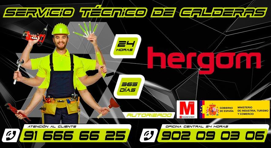 servicio técnico Hergom en Fuenlabrada