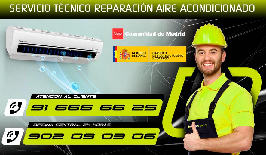 Reparación aire acondicionado en Fuenlabrada