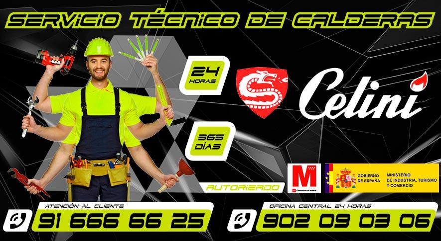Servicio técnico calderas Celini en Fuenlabrada