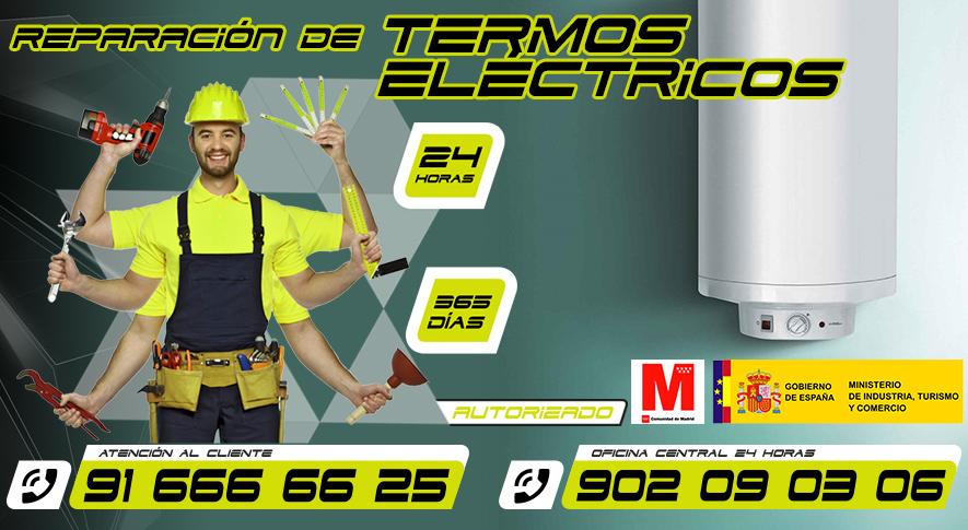 Reparación de termos eléctricos en Fuenlabrada