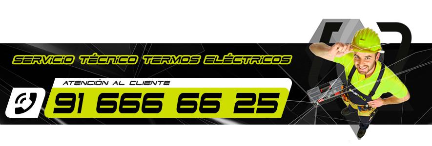 Servicio técnico de termos eléctricos en Fuenlabrada